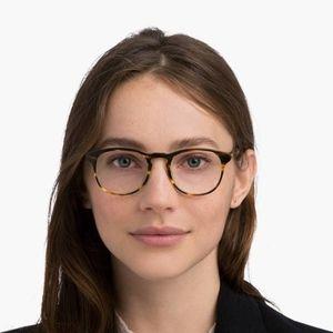 Warby Parker Baker Eyeglasses in Striped Sassafras